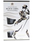 Johnnie Walker Black + 2 Verres + Gb 70cl Vol 40%
