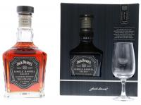 Jack Daniels Single Barrel + Verre 70cl Vol 47%